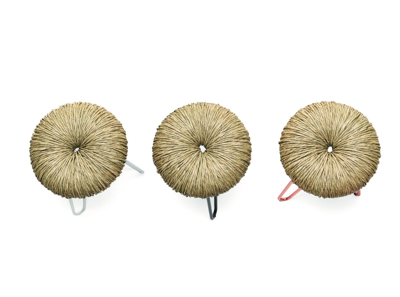Sgabello e pouf donut mogg
