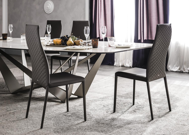 197 Piermarini Design Roma norma couture chair | cattelan italia